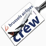 Brussels 737 Tag